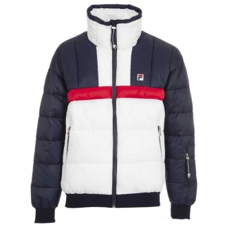 Quilted Padded Jacket With Logo