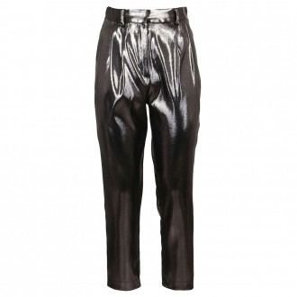 Silver Lurex Trousers