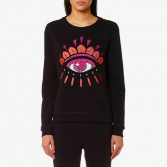 Eye Sweatshirt - Black