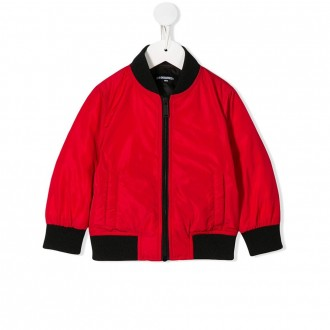 Red Icon Bomber Kids