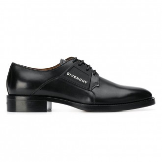 Derby Cruz Shoes In Black Leather