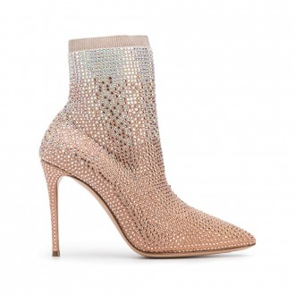 Pink Blade Thriller Ankle Boot
