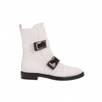 White Millennium Ankle Boot