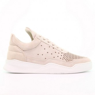 LOW TOP GHOST GRADIENT PERFORATED OFF WHITE