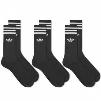 Solid Crew Sock - 3 Pack