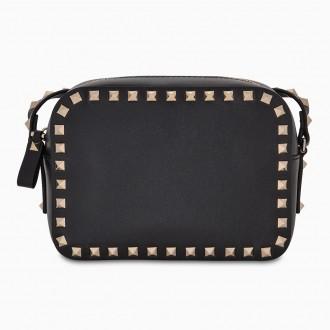 Black Rockstud Small Bag