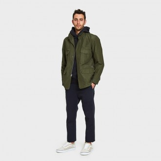 Field Jacket in Dark Olive
