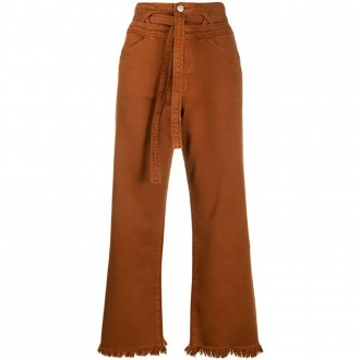 Sukey High-waisted Tobacco Jeans