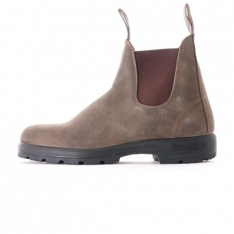 585 Comfort Pull-On Boots - Rustic Brown