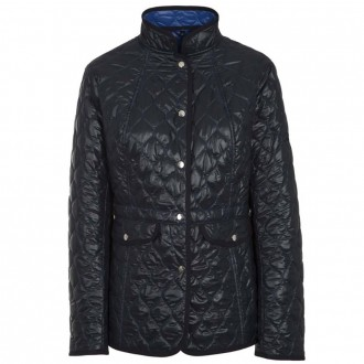 Lightweight High Necked Quilted Jacket