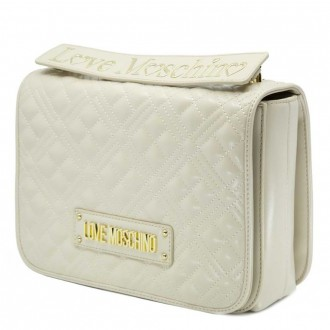 Quilted Shoulder Bag With Logo
