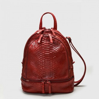 Python Backpack - Red