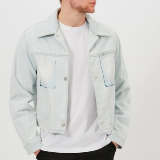 Men's Super Bleach Denim Jacket - Bleach