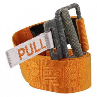 Orange Tape Belt