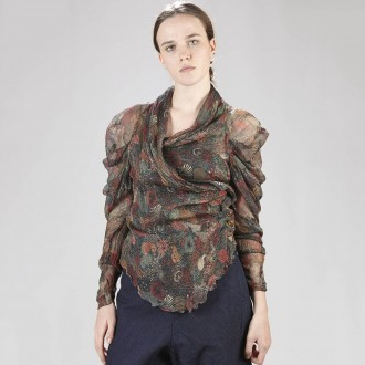 Shirt With Paisley Pattern