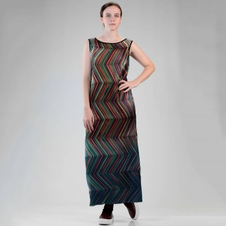 Long And Slim Fit Dress