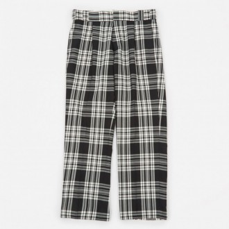 Check Pant - Black/White