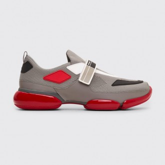 CLOUDBUST SNEAKERS CHROME / RED