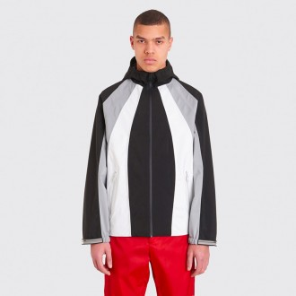TECHNICAL THREE COLOR JACKET BLACK / GREY / WHITE