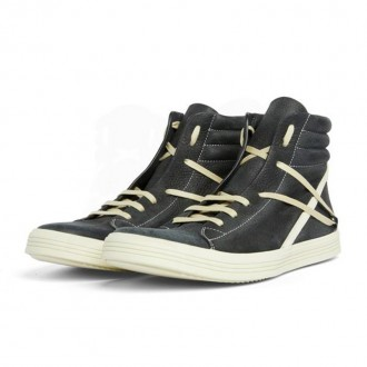 Black / Milk Geothrasher High Top Sneakers