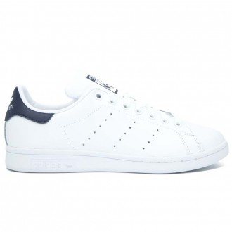 Stan Smith White And Blue Sneakers