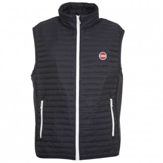 Quilted Vest With Softshell Inserts