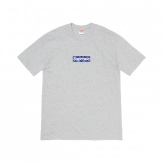 Bandana Box Logo Tee Heather Grey