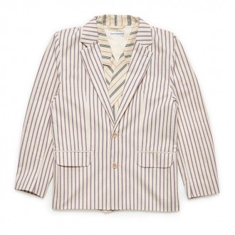 Double Layer Striped Jacket (Combo Stripe)