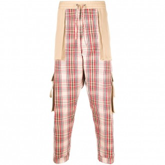 Multicolor Cotton Trousers