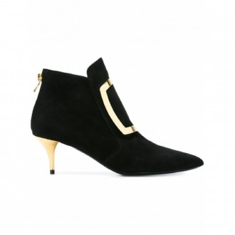 BALMAIN kitten heel booties