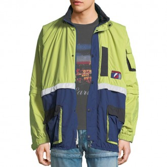 Padded Convertible-Sleeve Parka