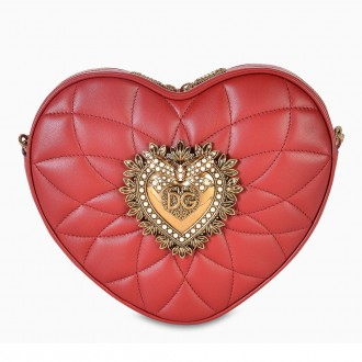 Red Heart Box Shoulder Bag