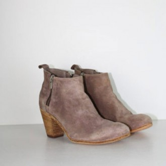 Suede Ankleboots