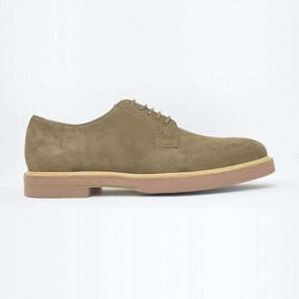 Derby In Brown Suede