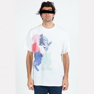 Faces Print T-shirt