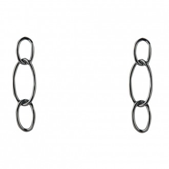 Earring Bolt Black