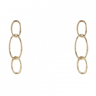 Earring Bolt Gold