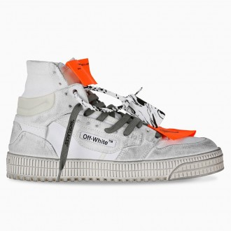 High Sneaker Dirty White