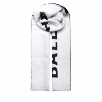 Two-tone Scarf With Logo