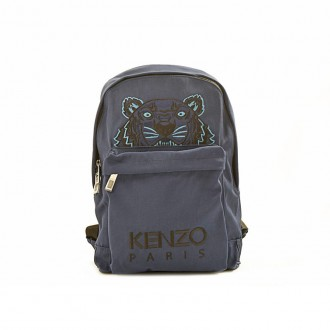 GREY ICONIC TIGER BACKPACK