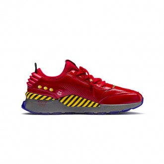 X SEGA RS-0 'DR. EGGMAN' (RED / YELLOW / DARK GREY)