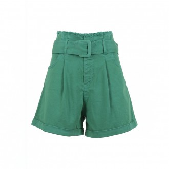 Short High Waist Belt Green