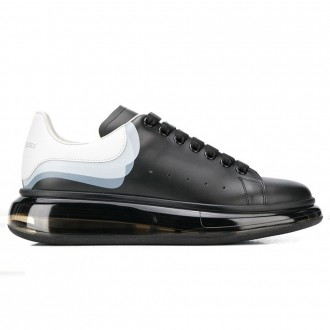 Oversize Sneakers Raven Black Leather