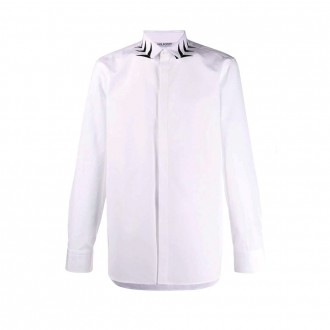 Shirt With Decorated Collar