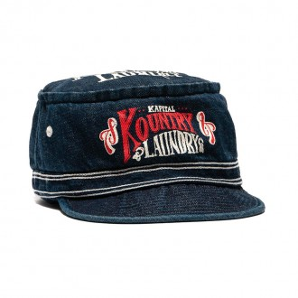 11.5oz Denim Pork Pie Cap IDG