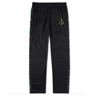 X KAPPA MULTICOLOUR TAPED TRACK PANT