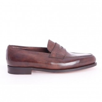 Brown Head Loafers