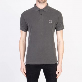 Steel Gray Polo Shirt