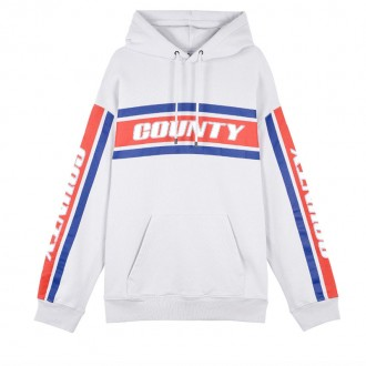 Color Band hooded sweatshirt