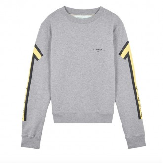 Grey Arrow crew-neck sweatshirt